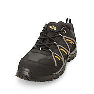 Site Mercury Black Safety trainers, Size 9