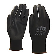 Site Nylon General handling gloves, Large