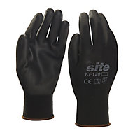 Site Nylon General handling gloves, Medium