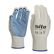 Site Nylon & polyester General handling gloves, Large