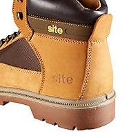 Site Quartz Men's Honey Safety boots, Size 11