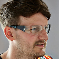 Site SEY228 Clear Lens Safety specs