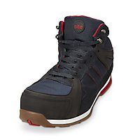Site Strata Navy Safety trainers, Size 9