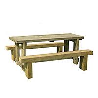 Sleeper Wooden Natural timber Bench