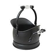 Slemcka Contemporary Fire bucket (H)350mm (D)27mm