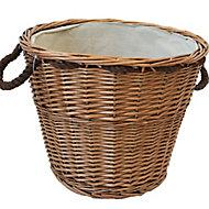 Slemcka Contemporary Log basket (D)440mm