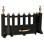 Slemcka Traditional Black Brass effect Metal Fire fret