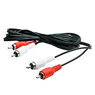 Smartwares Black Speaker cable 3.5mm² x 1.5m
