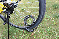 Smith & Locke Black Steel Combination Cable lock (L)1.2m
