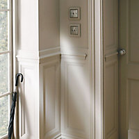 Smooth Natural Pine Astragal Moulding (L)2.4m (W)22mm (T)8.5mm