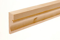 Smooth Pine Ogee Architrave (L)2.1m (W)69mm (T)19.5mm, Pack of 5