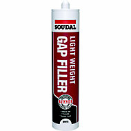 Soudal White Flexible Decorators caulk 300ml