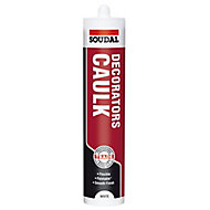 Soudal White Flexible Decorators caulk 380ml