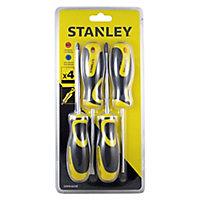 Stanley 4 Piece Mixed Screwdriver set