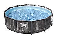 Steel pro max PVC Family swimming pool, 3.66m