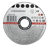 Stone Cutting disc (Dia)115mm, Pack of 5