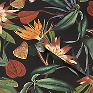 Superfresco Easy Black Parrot Smooth Wallpaper
