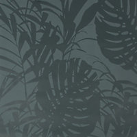 Superfresco Easy Palm Green Leaves Smooth Wallpaper