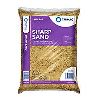 Tarmac Sharp sand, Large Bag
