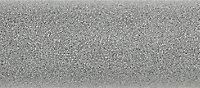 Terma Rolo room Vertical Electric designer Radiator, Salt n pepper (W)480mm (H)1800mm