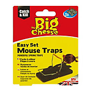 The Big Cheese Mouse trap, Pack of 2