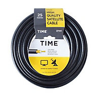 Time Black Satellite cable, 25m