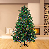Treebrights 3000 Multicolour LED String lights Green cable