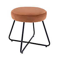 Turio Burnt orange Stool