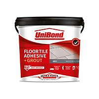 UniBond UltraForce Ready mixed Grey Tile Adhesive & grout, 7.3kg