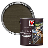 V33 High performance Grey UV resistant Decking Wood oil, 5L