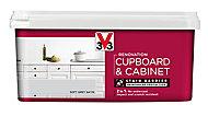 V33 Renovation Soft grey Satin Cupboard & cabinet paint, 2L
