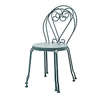 Vernon Sea pine Metal Chair