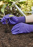 Verve Nylon Lilac Gardening gloves, Medium