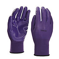 Verve Nylon Lilac Gardening gloves, Small