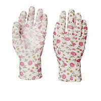 Verve Polyester (PES) Pink Gardening gloves, Medium