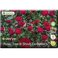 Verve Rose, tree & shrub Peat-free Compost 50L