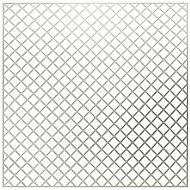 White Mosaic backer sheet, (L)300mm (W)300mm