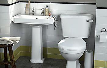 Serina low-level toilet