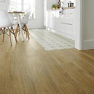 Woodproject Natural Matt Wood effect Porcelain Wall & floor Tile Sample