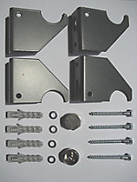 Ximax Champion Vertical Designer Radiator, Anthracite (W)526mm (H)1800mm