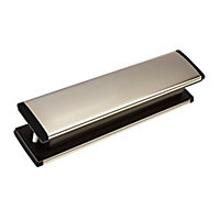 Yale Chrome effect Metal Letter plate