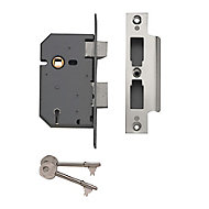 Yale PM5502.5IN 64mm Chrome effect Metal 5 lever Sashlock