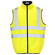 Yellow Hi-vis bodywarmer Large