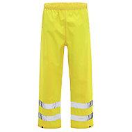 Yellow Waterproof Hi-vis trousers Medium