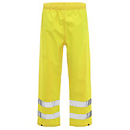 Yellow Waterproof Hi-vis trousers X Large