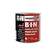 Zinsser B-I-N White Multi-surface Matt Primer, 1L